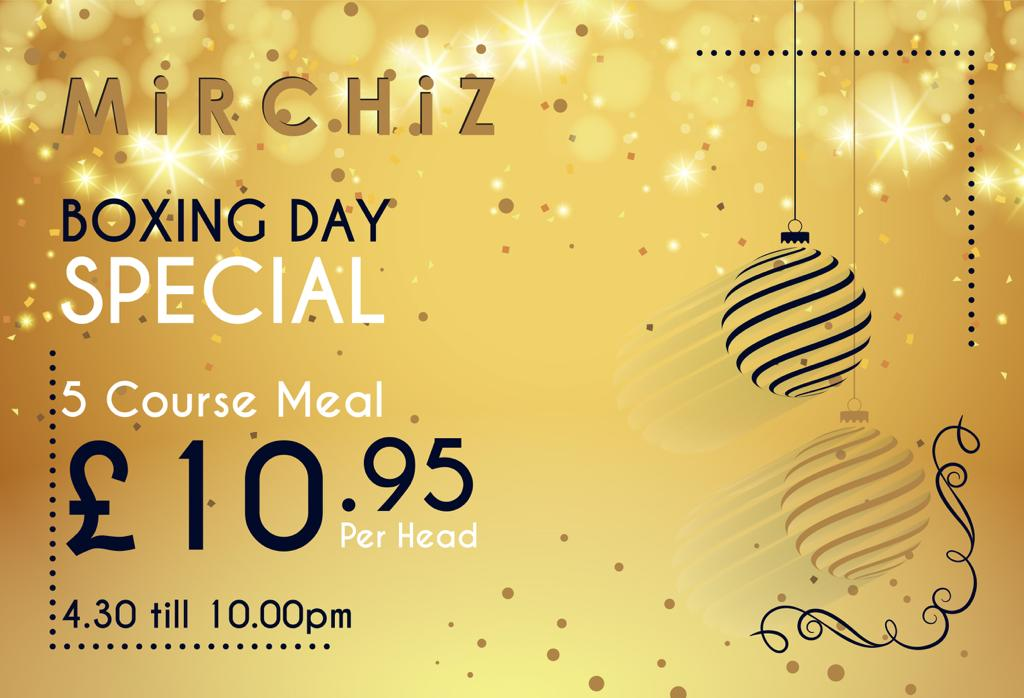Mirchiz York - Boxing Day Special